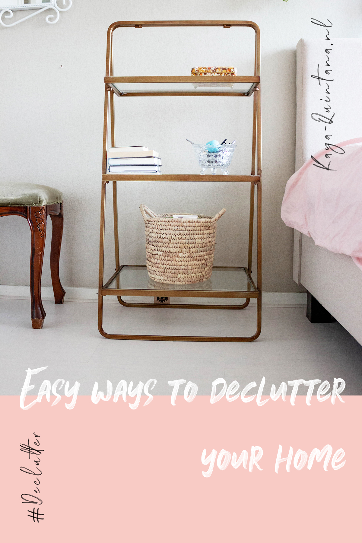 four easy ways to declutter your home