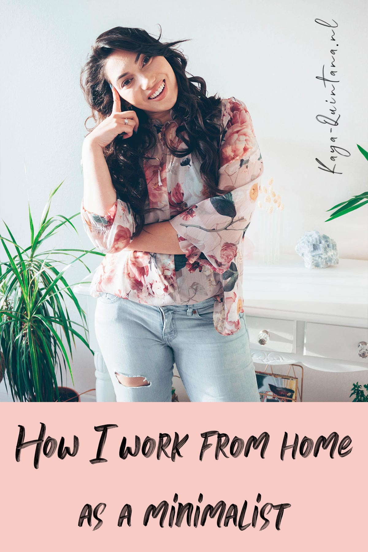 how I work from home as a minimalist
